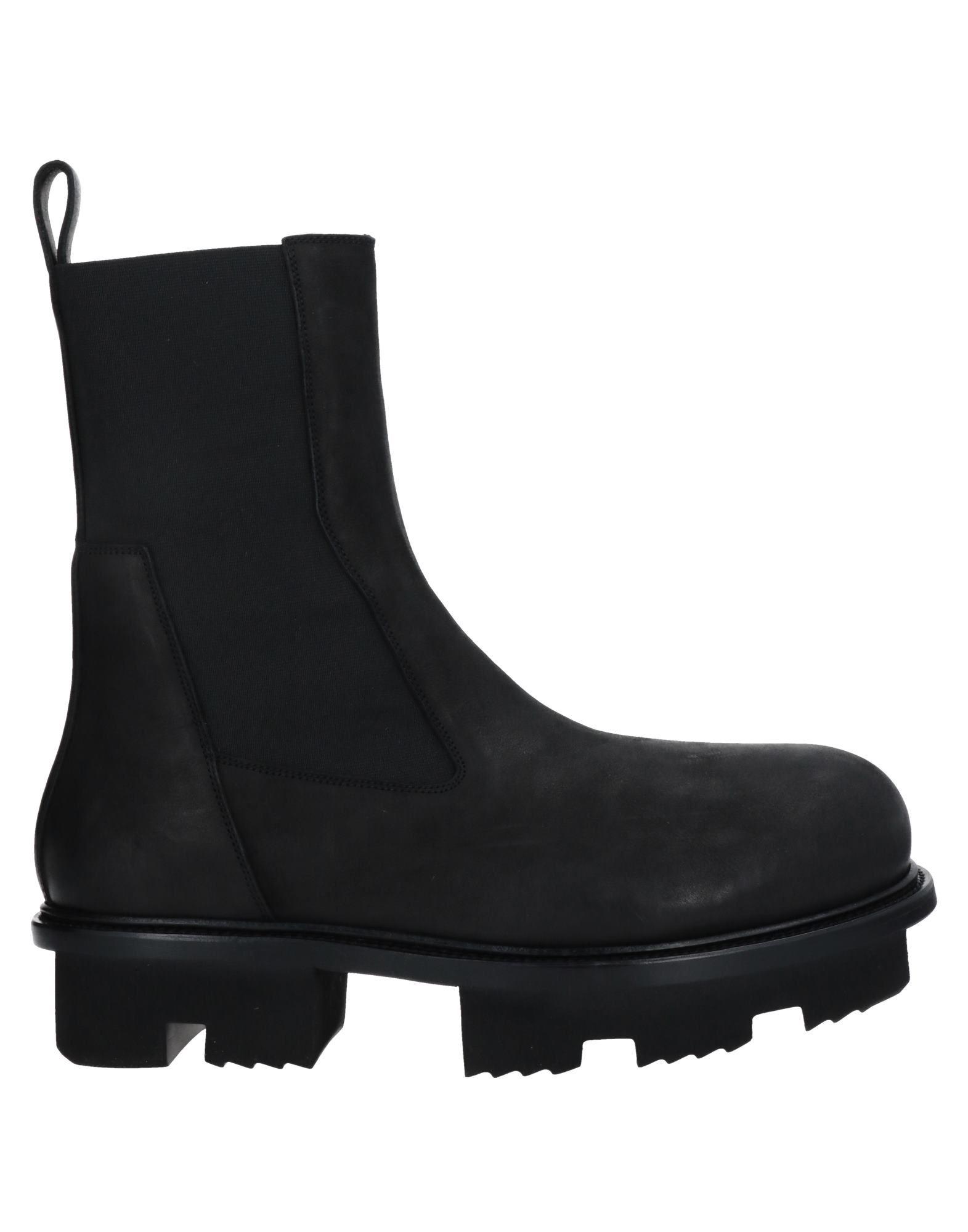 RICK OWENS リック オウエンス メンズ ブーツ ブラック