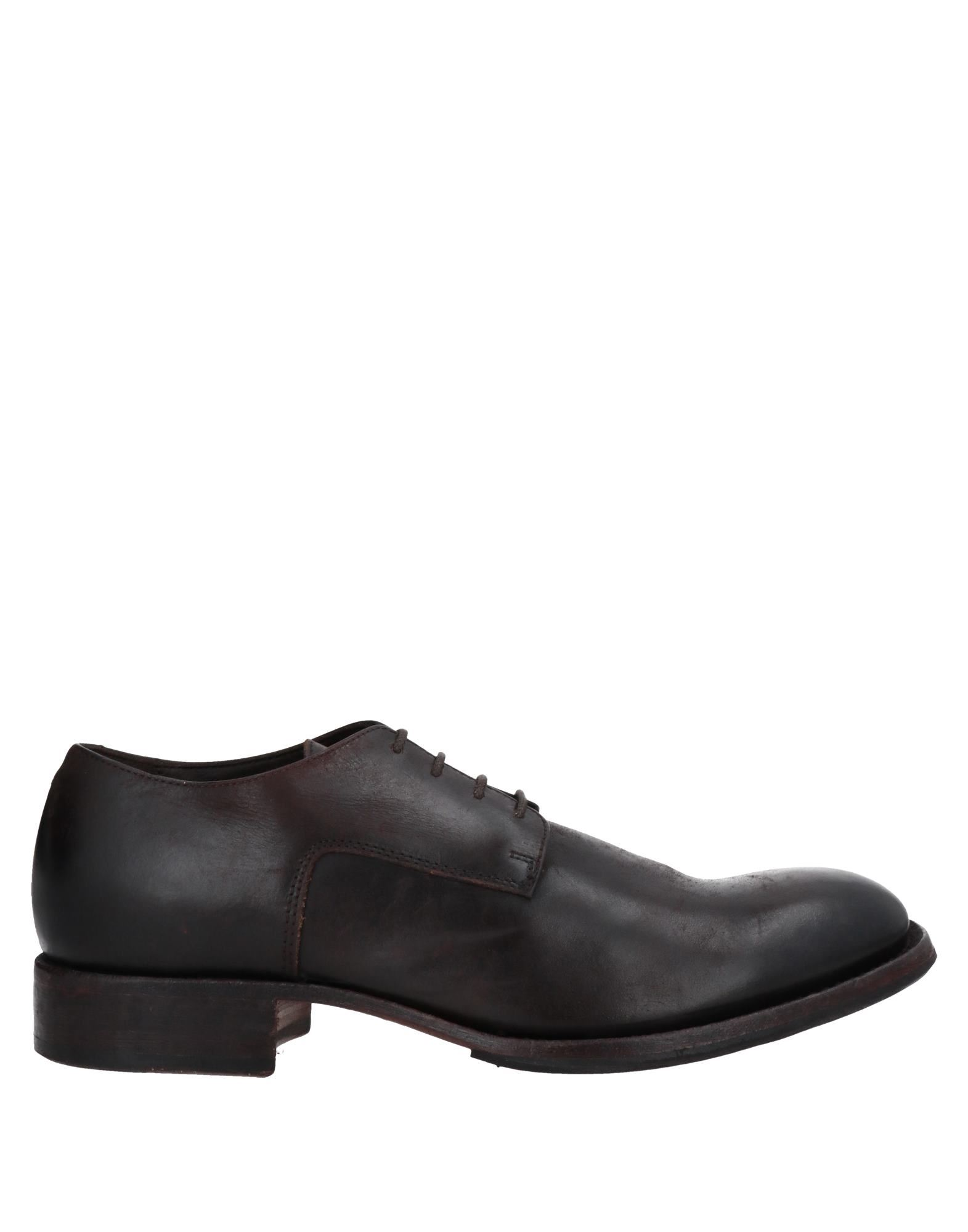 Bcc:'ed Blind Carbon Copied Lace-up Shoes In Dark Brown
