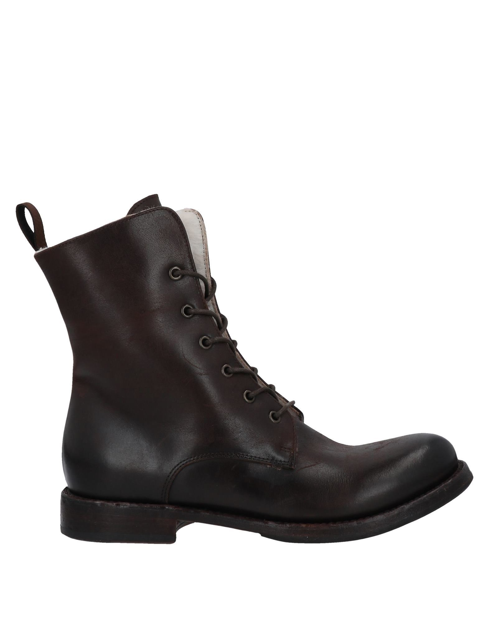 Bcc:'ed Blind Carbon Copied Ankle Boots In Dark Brown
