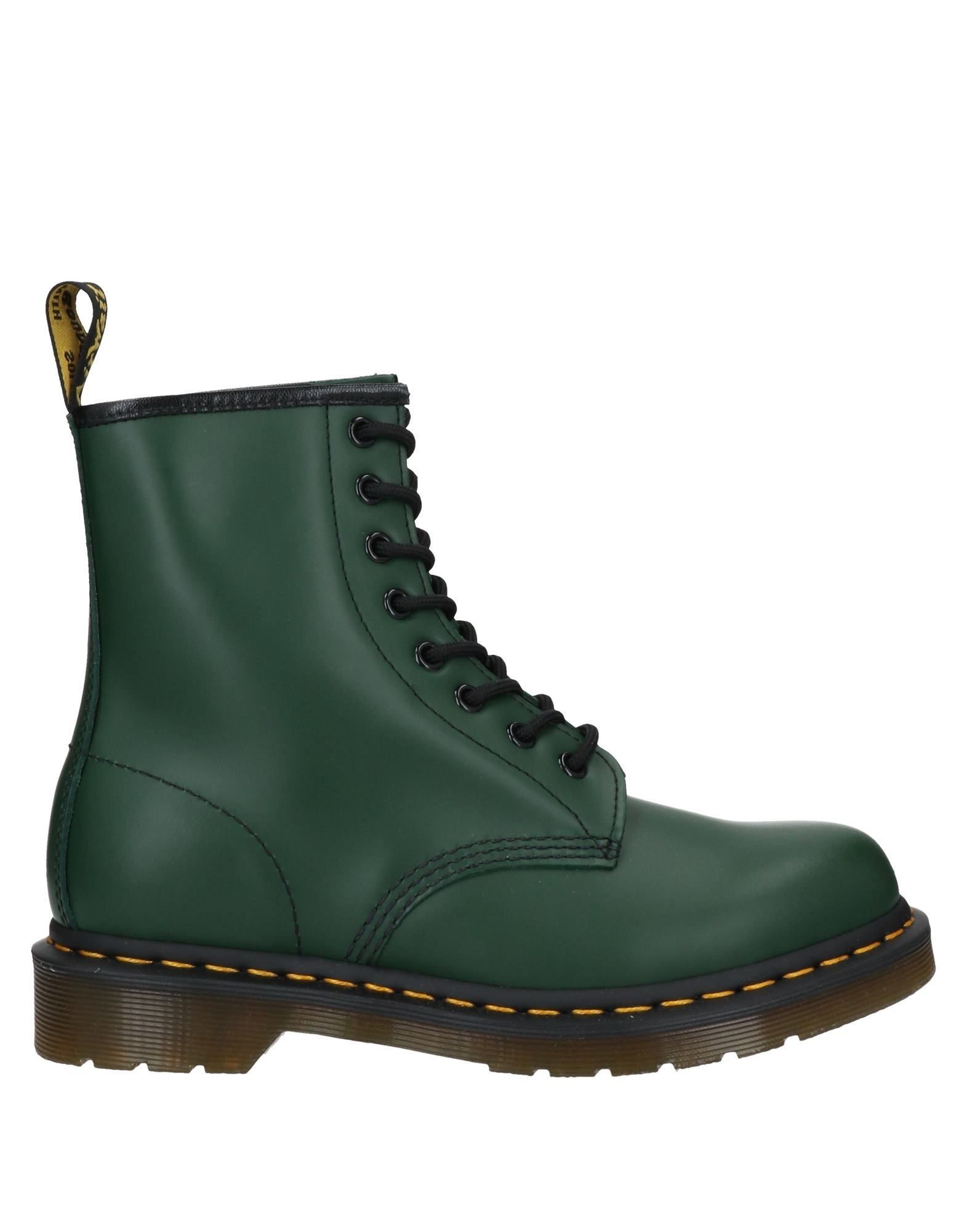 Dr. Martens Ankle Boots In Green