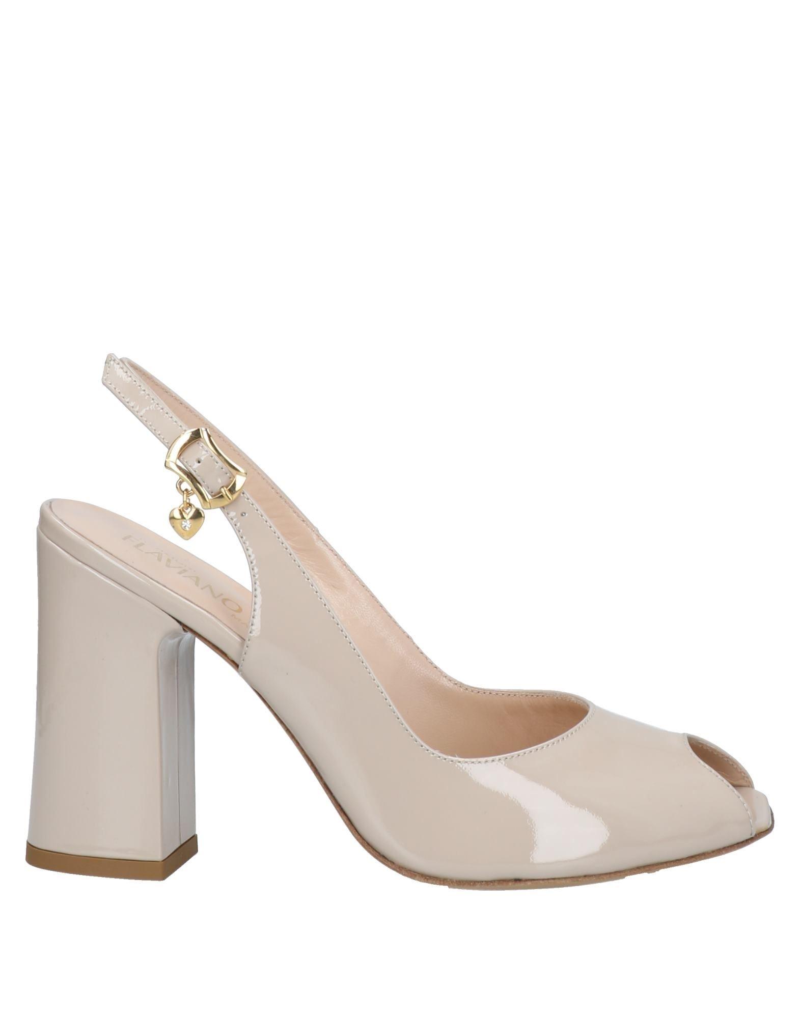 Flaviano Ercoli® Sandals In Beige