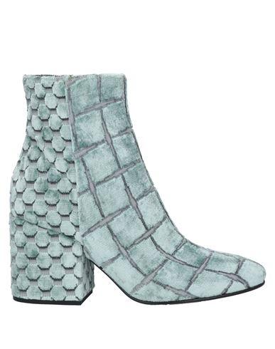 Полусапоги и высокие ботинки ELENA IACHI. Цвет: светло-зеленый