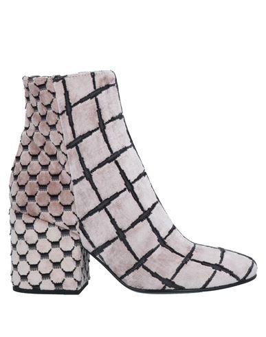 Полусапоги и высокие ботинки ELENA IACHI. Цвет: розовый