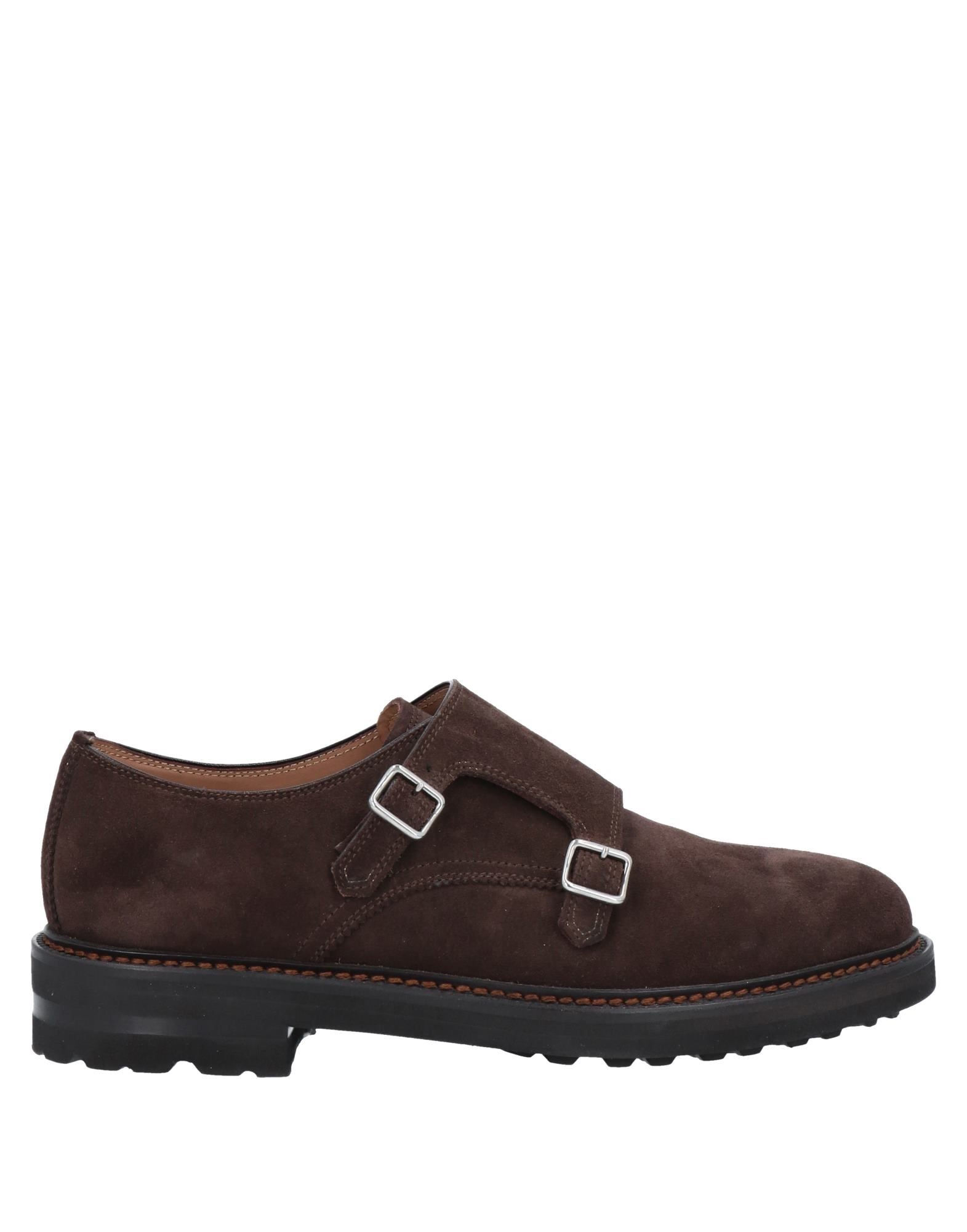Henderson Baracco Loafers In Dark Brown