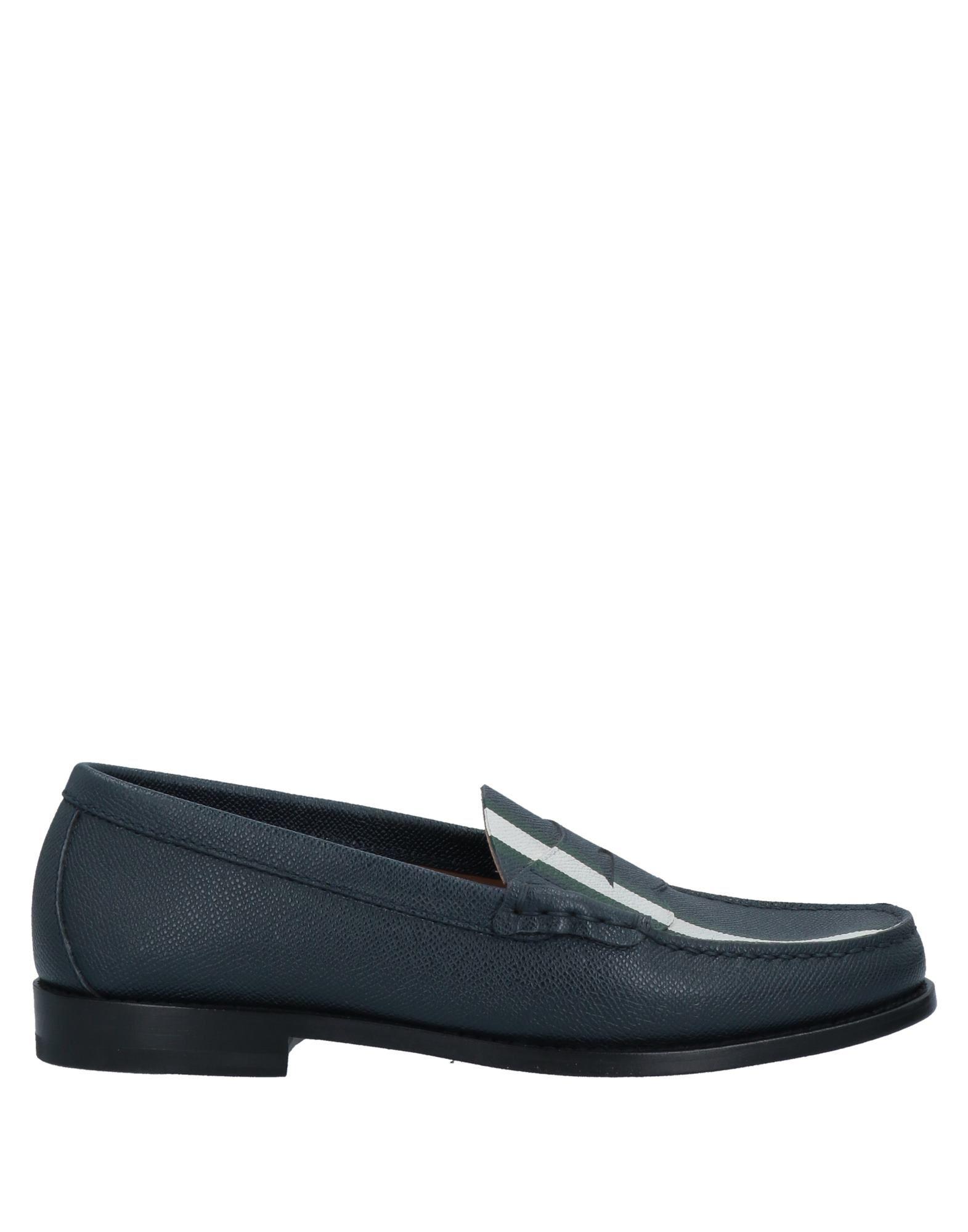 Henderson Baracco Loafers In Dark Blue