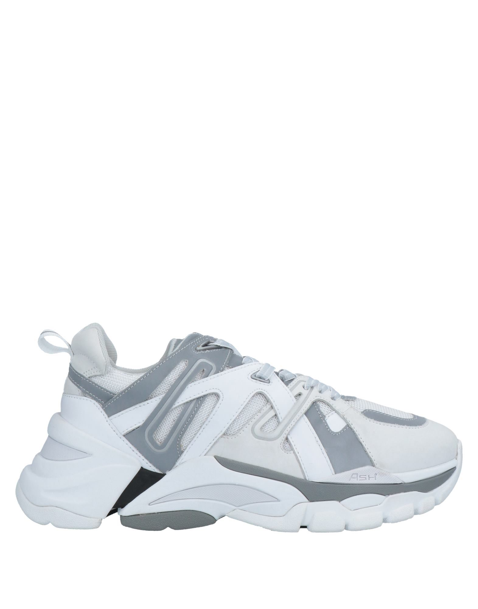 Ash Free Sneakers In White And Gray