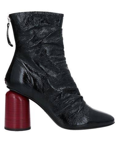Полусапоги и высокие ботинки HALMANERA. Цвет: черный