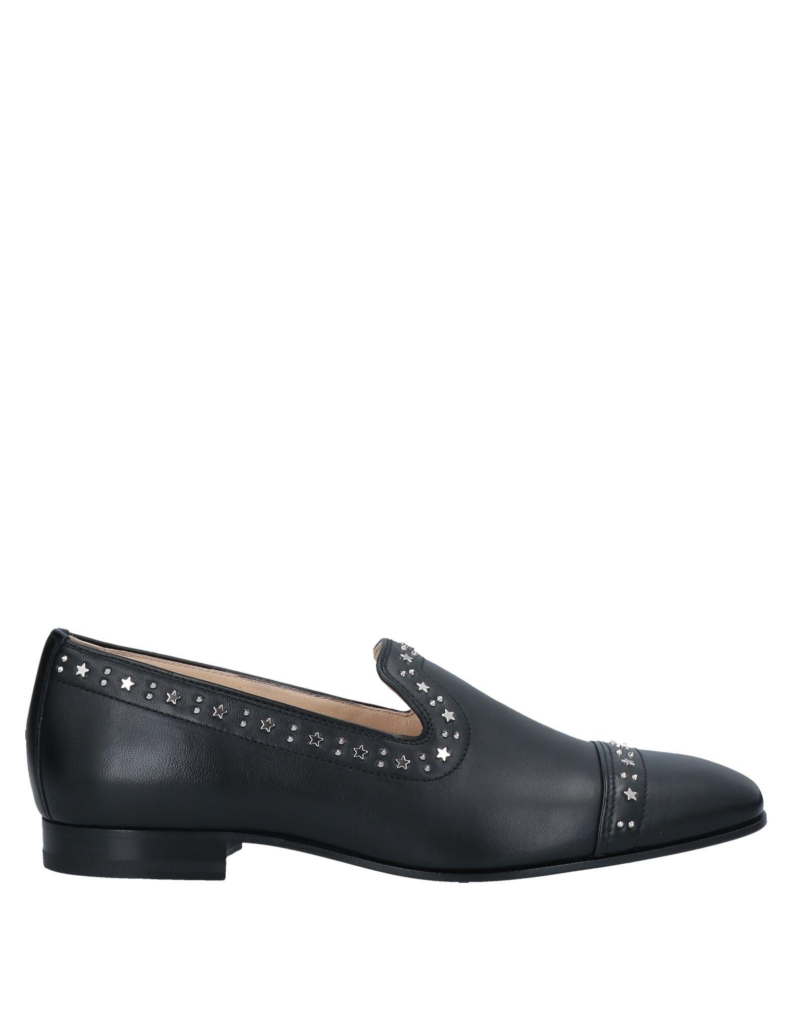 Jimmy Choo Loafers In Black