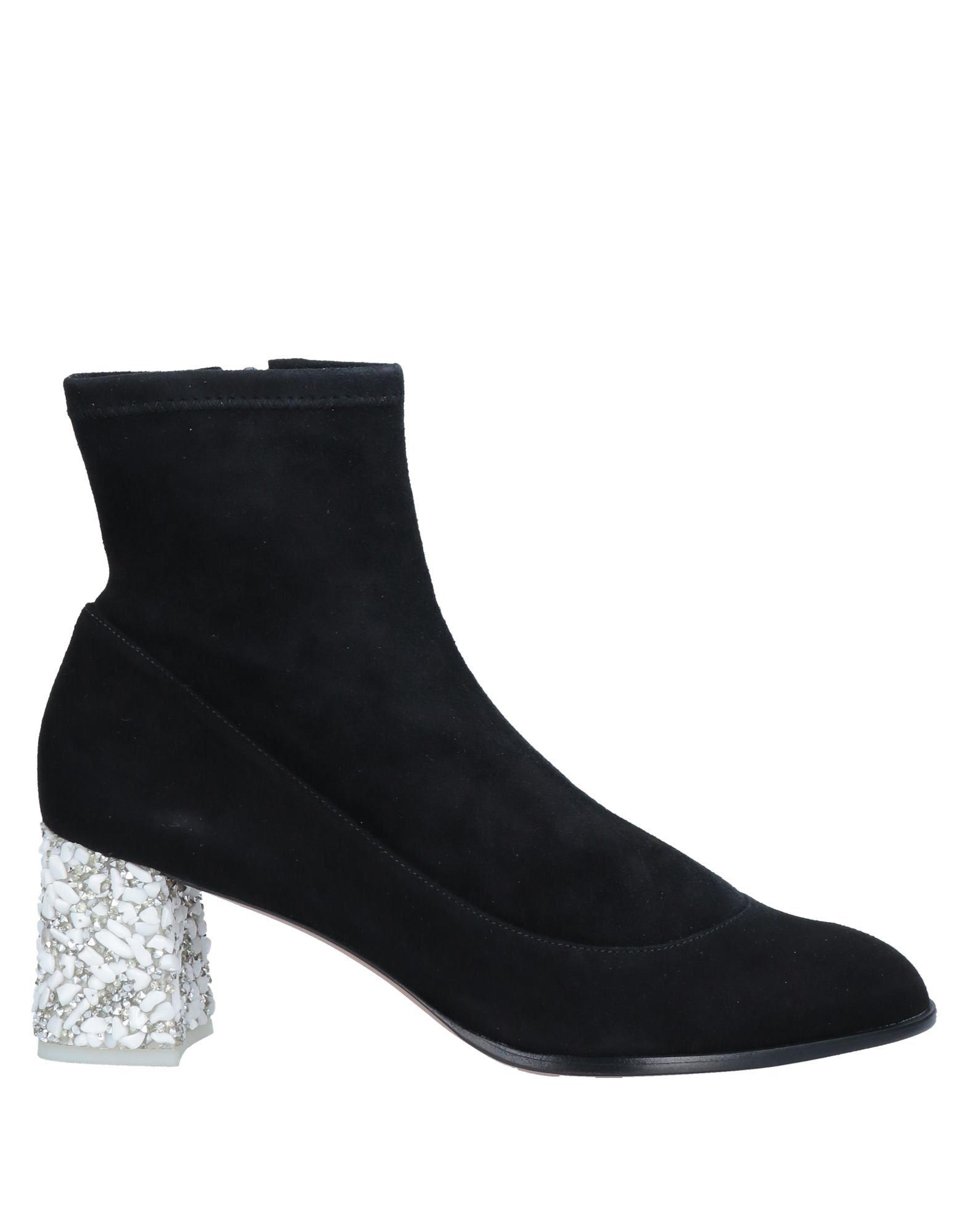 Sophia Webster Ankle Boots In Black