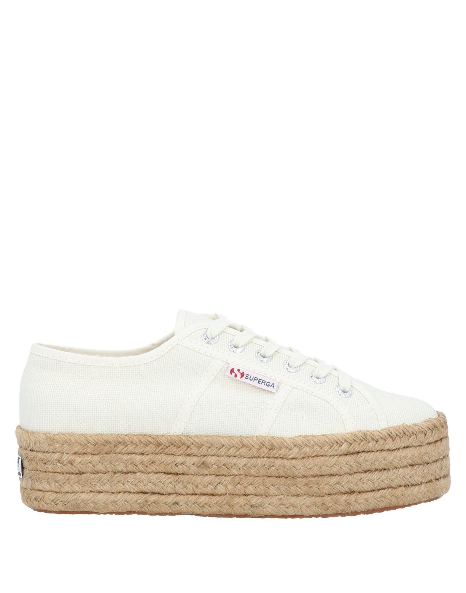 Details about  /NIB SUPERGA 2730 Womens Espadrilles Platform Classic Flat Canvas Casual Shoes