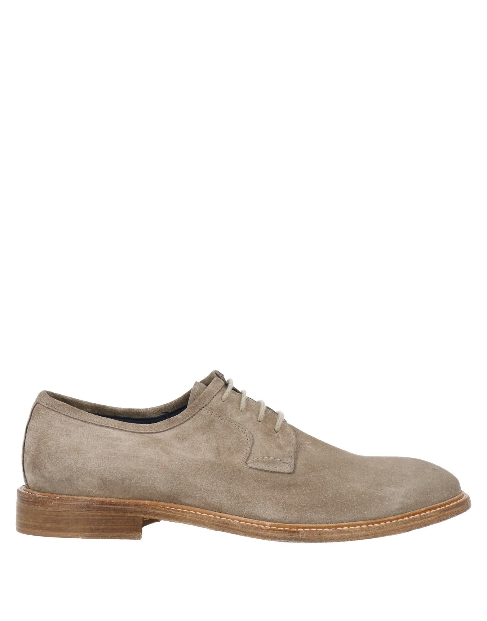 Alexander Trend Lace-up Shoes In Dove Grey