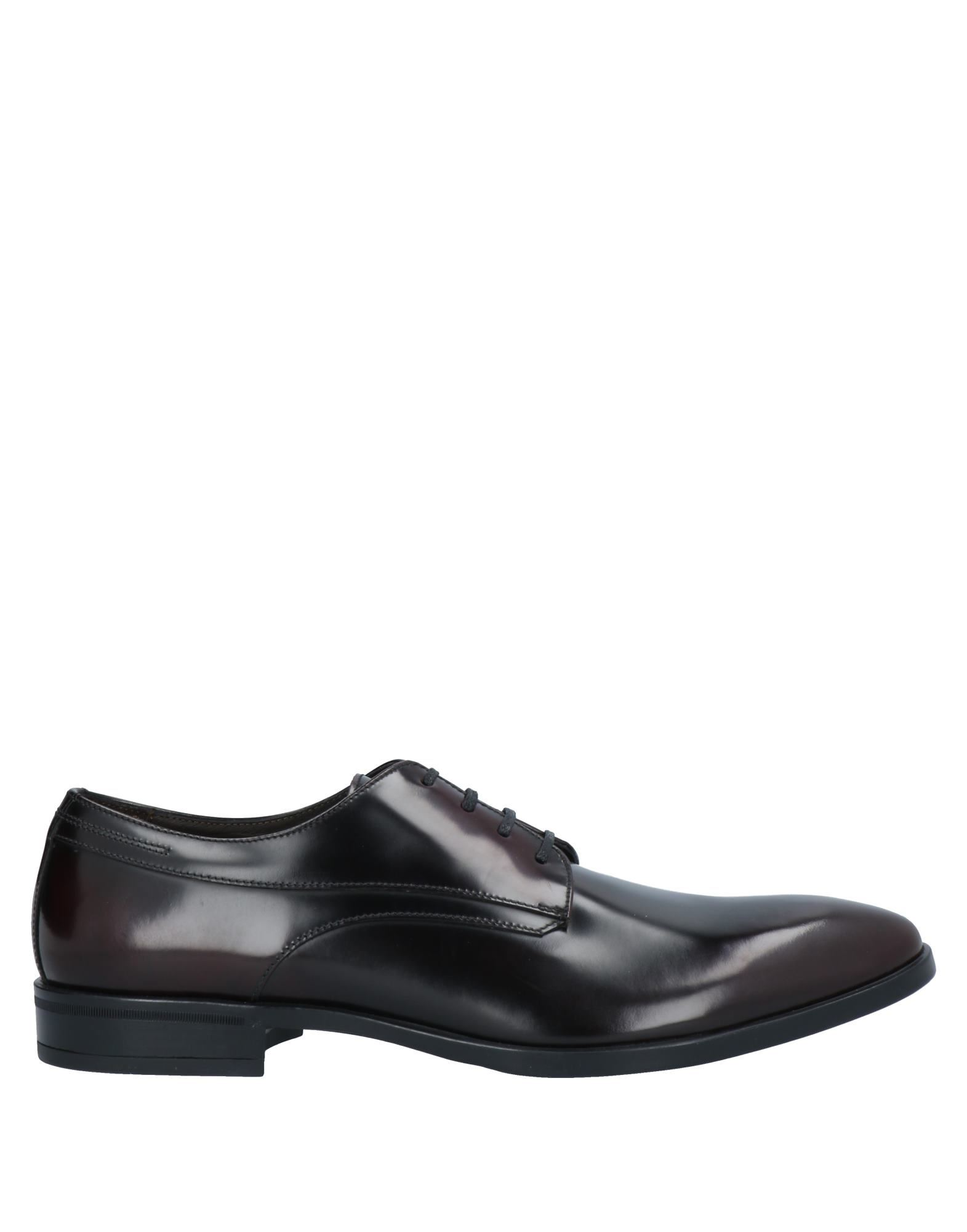 A.testoni Lace-up Shoes In Maroon