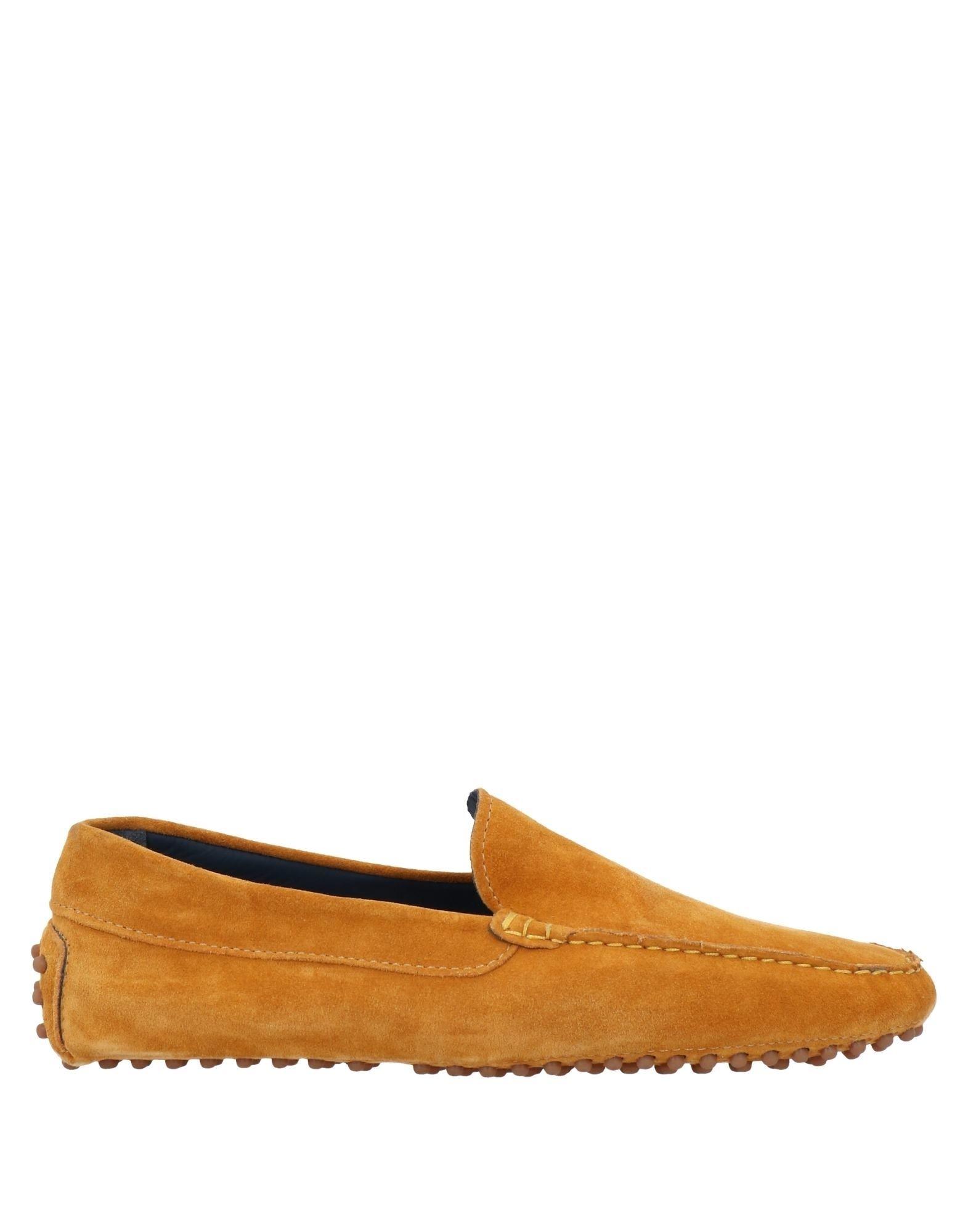 Alexander Trend Loafers In Orange