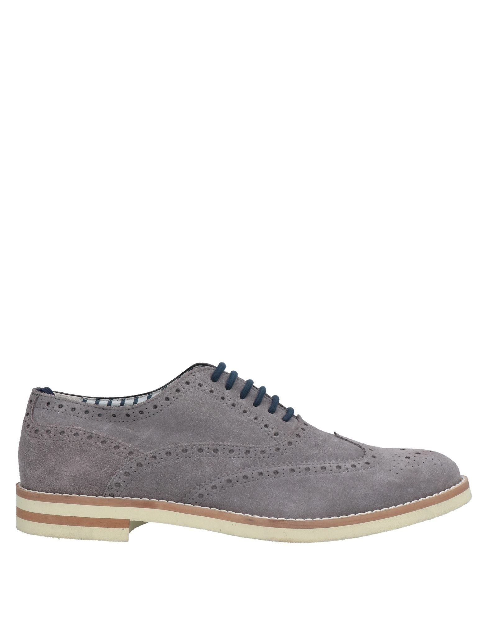 Alexander Trend Lace-up Shoes In Grey