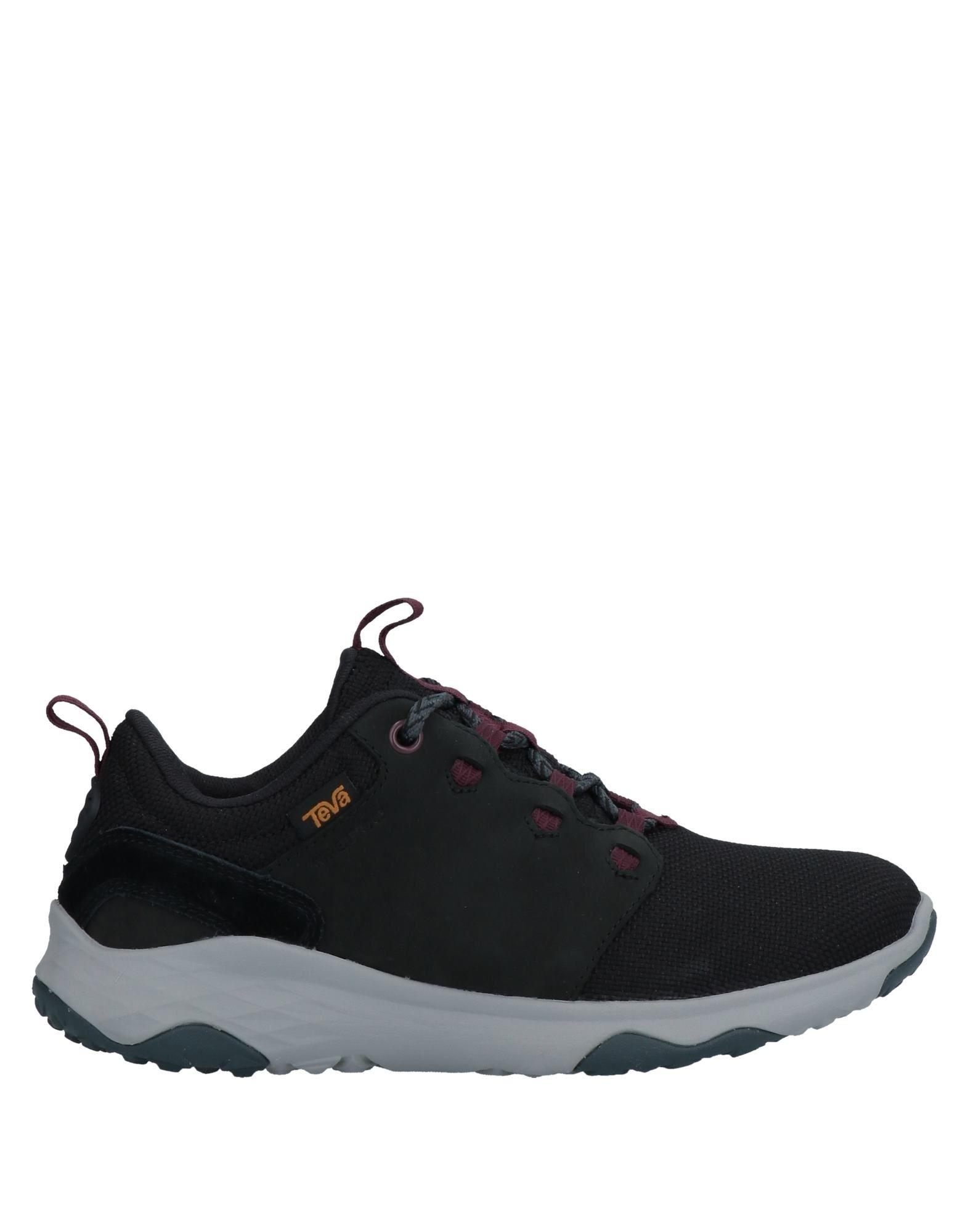 《セール開催中》TEVA レディース スニーカー&テニスシューズ(ローカット) ブラック 5 革 / 紡績繊維
