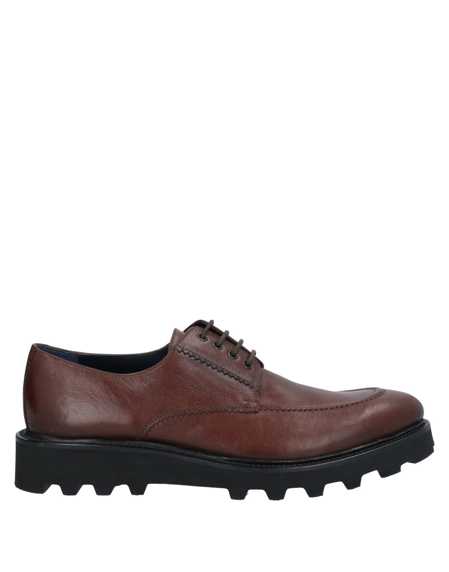 A.testoni Lace-up Shoes In Brown