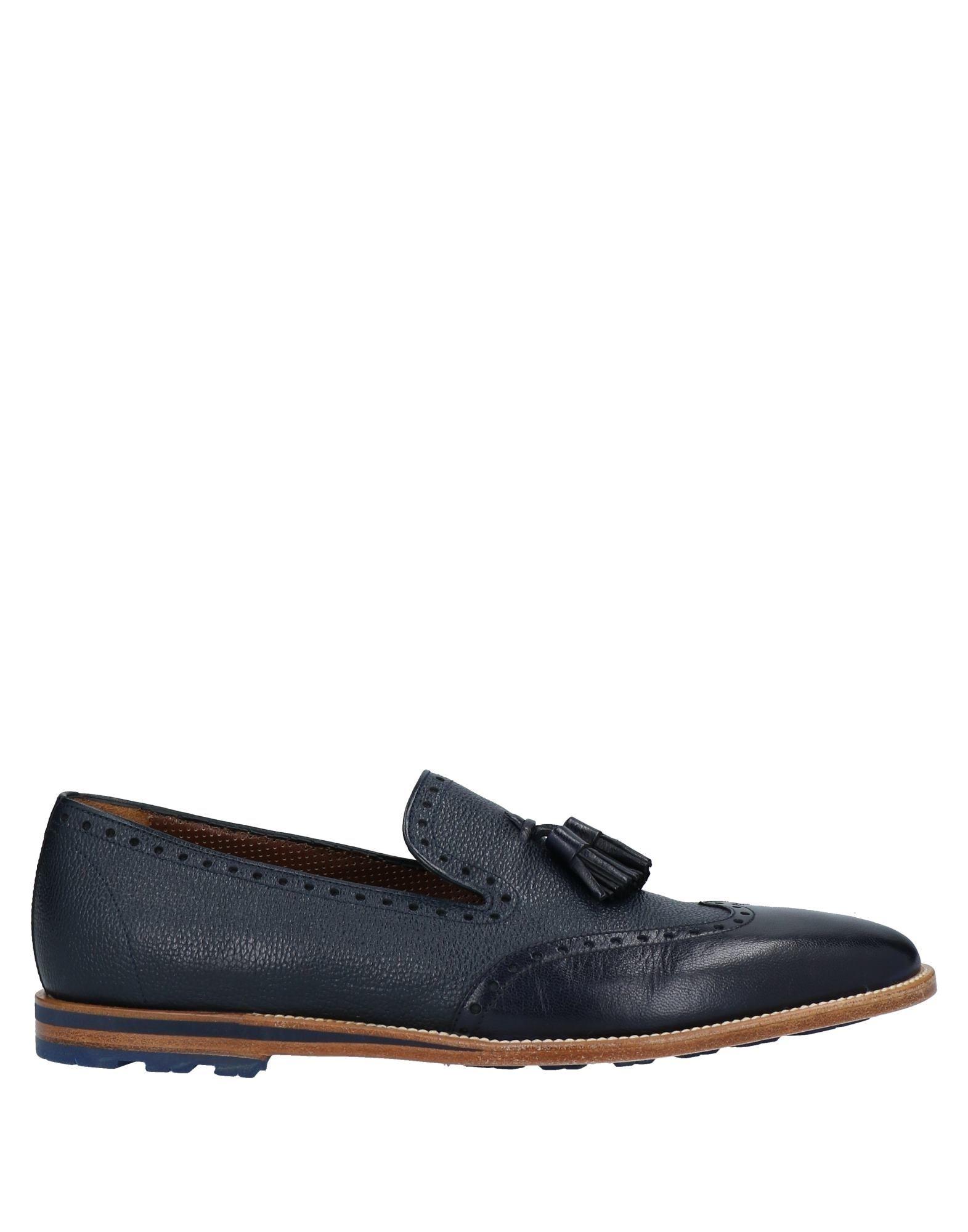 A.testoni Loafers In Dark Blue