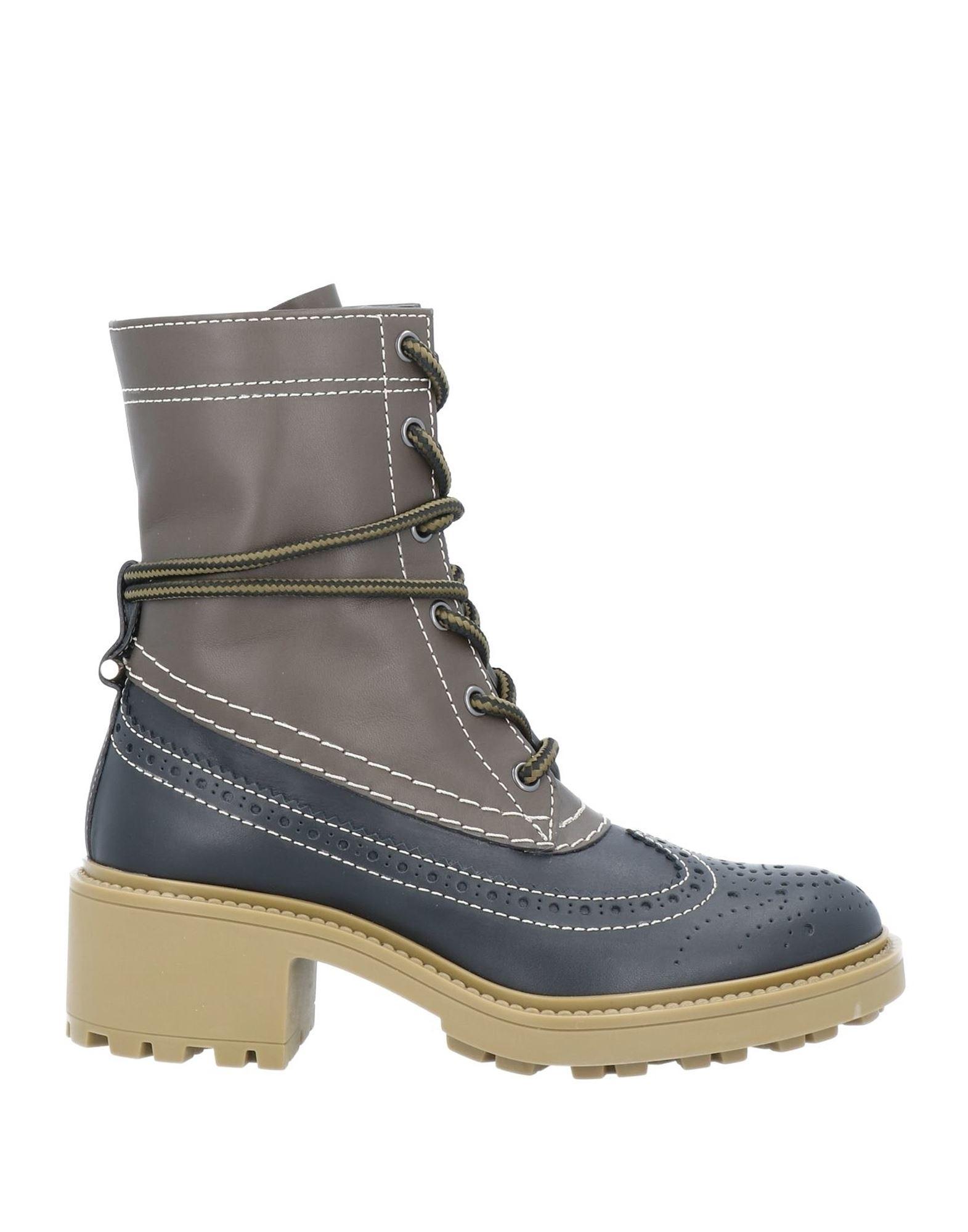 CHLOÉ Полусапоги и высокие ботинки chloé ботинки