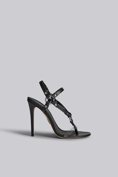 Sandales à talons Taille 38 98% Cuir de veau 2% PVC - Polychlorure de vinyle - Dsquared2 - Modalova