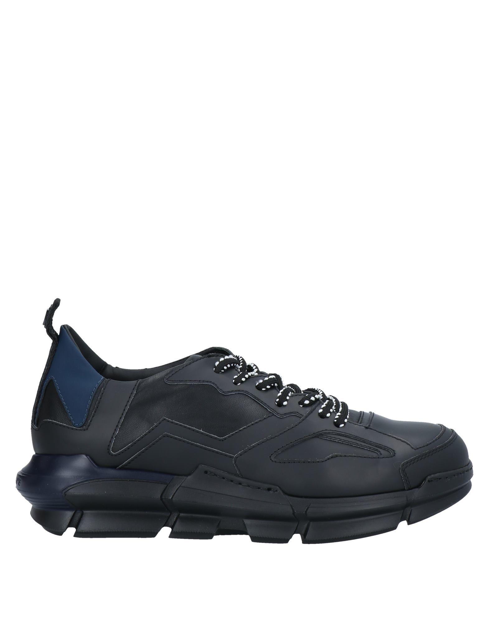 ATTIMONELLI'S メンズ スニーカー&テニスシューズ(ローカット) ブラック