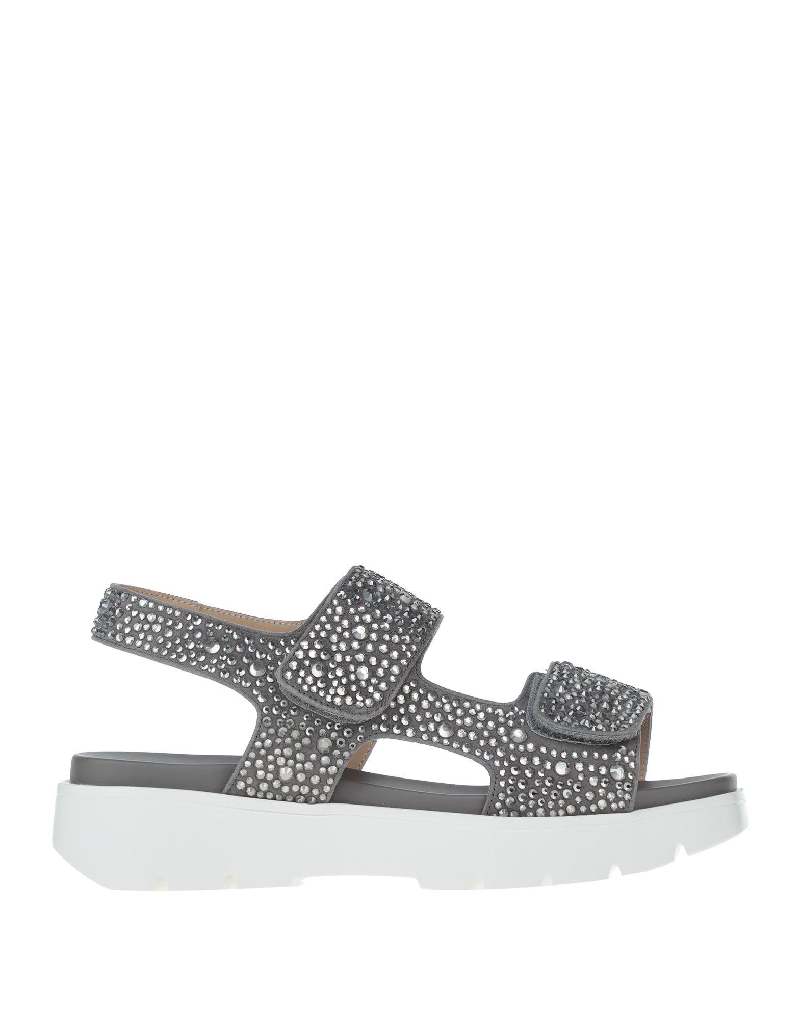 Gianmarco Lorenzi Sandals In Grey