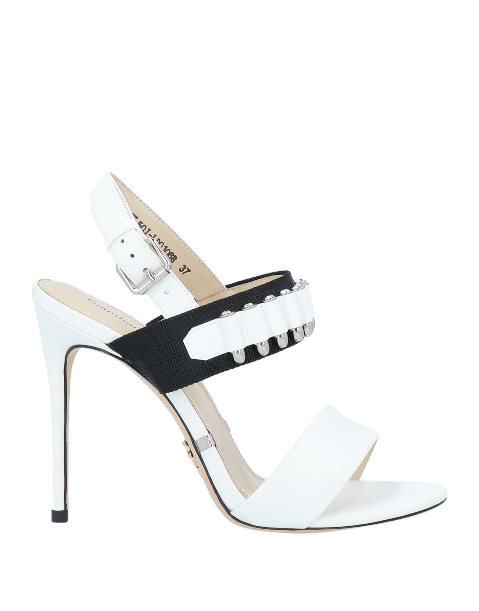 Gianmarco Lorenzi Sandals In White