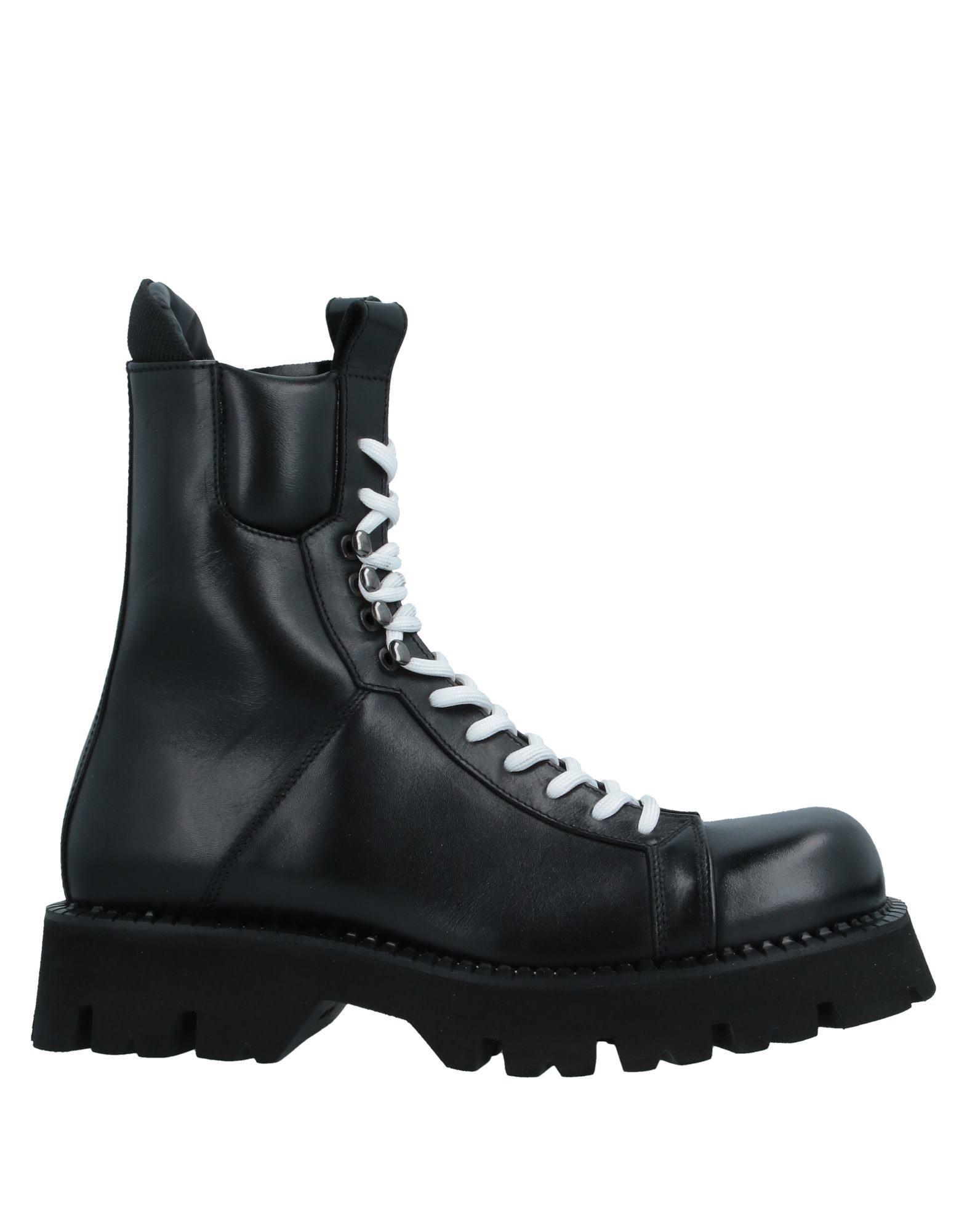 ATTIMONELLI'S メンズ ブーツ ブラック