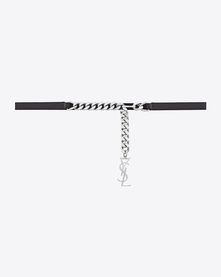 Monogram belts