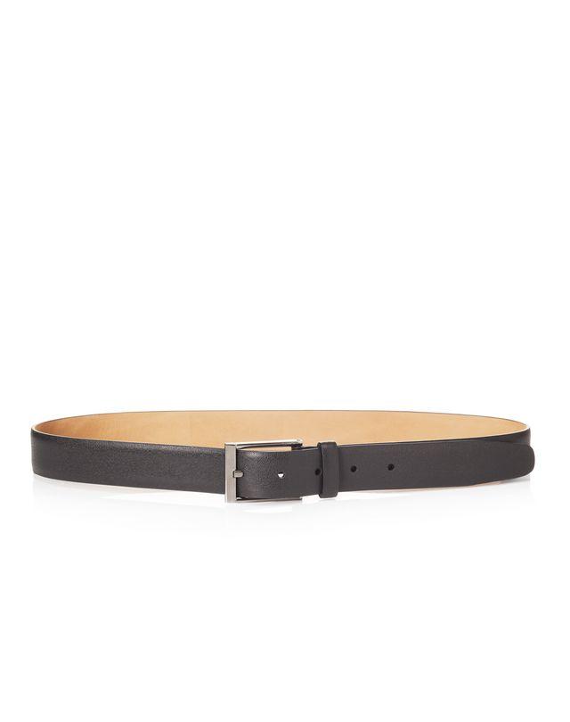 LANVIN Cintura 3cm in pelle di vitello pieno fiore lucida Belt U f