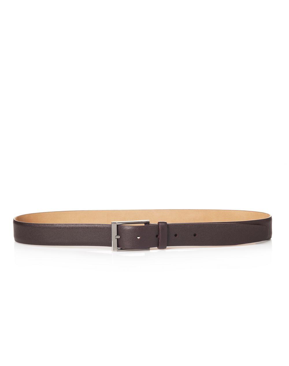 Cintura 3cm in pelle di vitello pieno fiore lucida - Lanvin