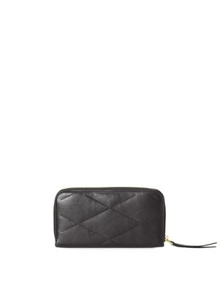 Long zipped Sugar wallet in lambskin