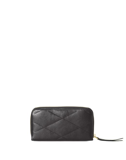 lanvin long zipped sugar wallet in lambskin women