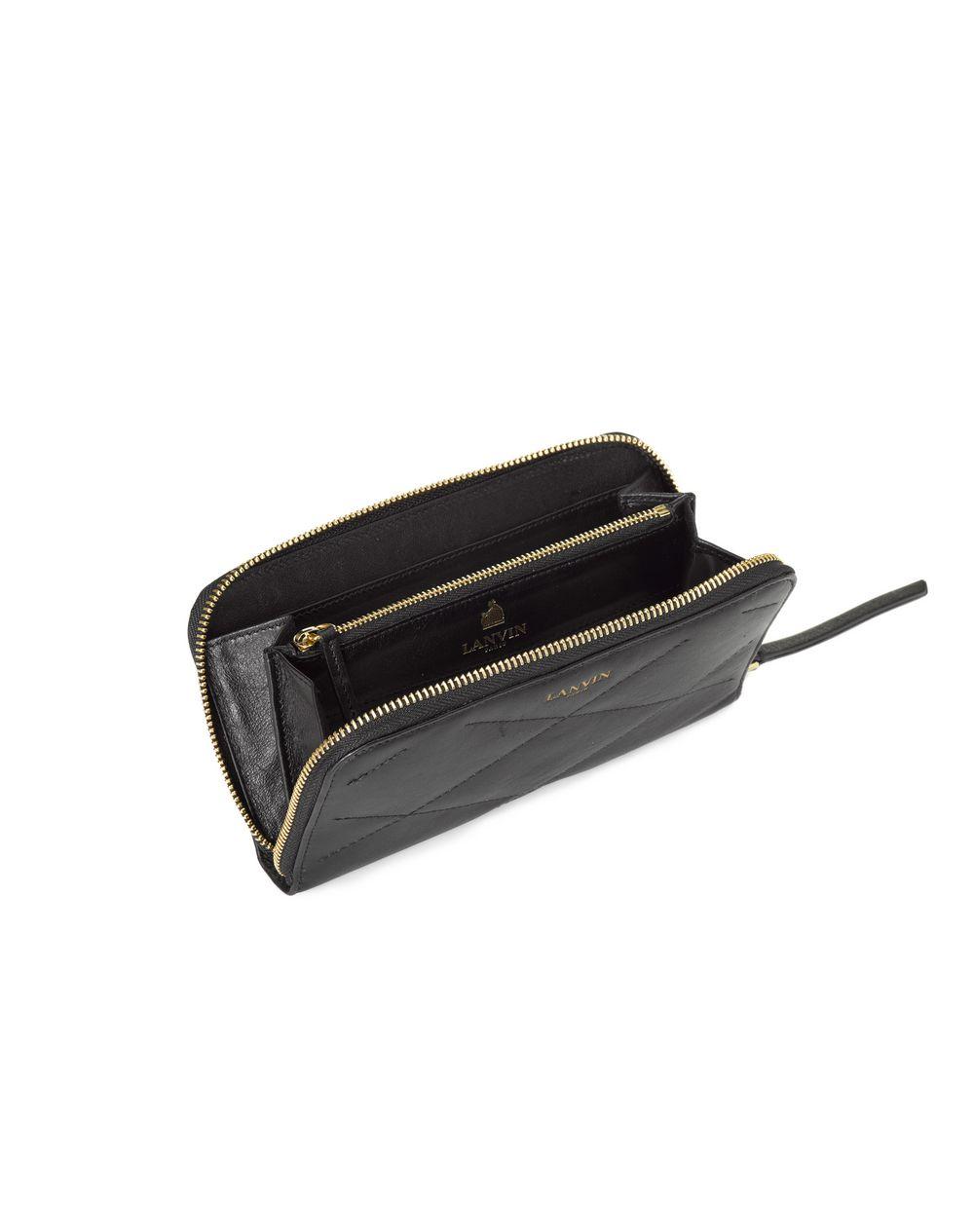 Long zipped Sugar wallet in lambskin - Lanvin