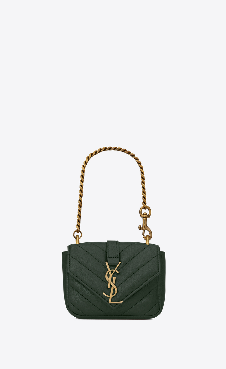 Brilliant Saint Laurent Small MONOGRAM SAINT LAURENT Fringed Crossbody Bag In Brown Suede | YSL.com