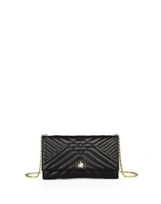 LANVIN SUGAR CLUTCH BAG WITH CHAIN Wallets & Card Holders D f