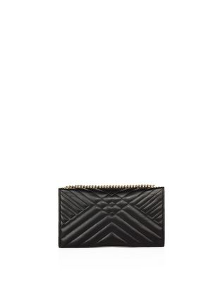 LANVIN SUGAR CLUTCH BAG WITH CHAIN Wallets & Card Holders D r