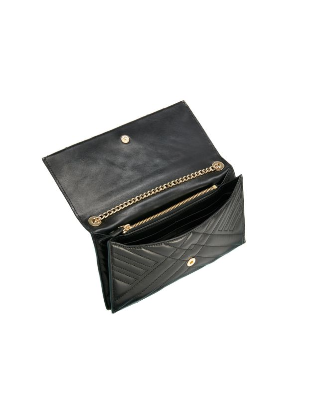 LANVIN SUGAR CLUTCH BAG WITH CHAIN Wallets & Card Holders D d