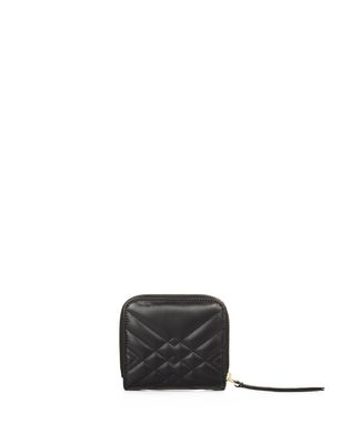 LANVIN COMPACT QUILTED SUGAR PURSE Wallets & Card Holders D r