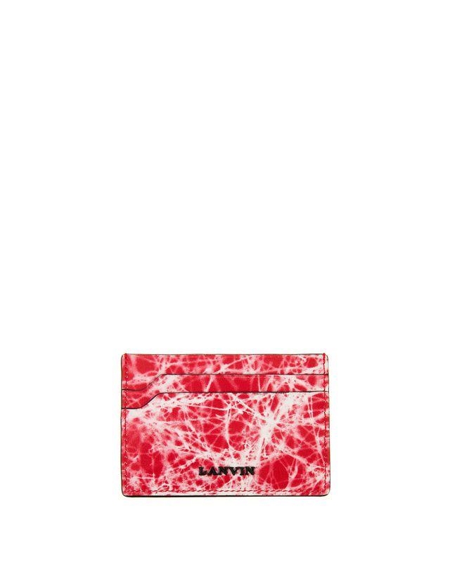LANVIN CALFSKIN FLAT CARD HOLDER Wallets & Card Holders U f