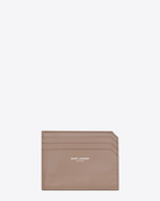 SAINT LAURENT Fragments Small Leather Goods D FRAGMENTS Credit Card Case in Rose f