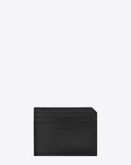 SAINT LAURENT Fragments Small Leather Goods U FRAGMENTS Credit Card Case in Black f