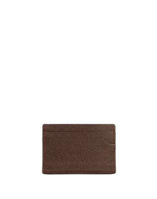GRAINED CALFSKIN CARD HOLDER