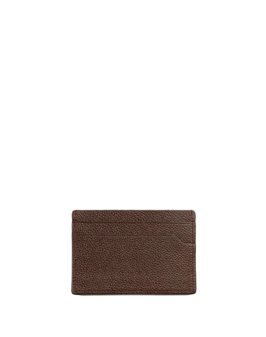 lanvin grained calfskin card holder men
