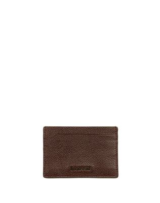 LANVIN GRAINED CALFSKIN CARD HOLDER Wallets & Card Holders U f