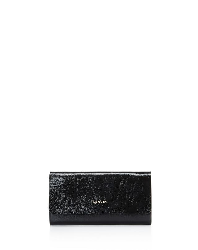 LANVIN FLAP CLUTCH Wallets & Card Holders D f