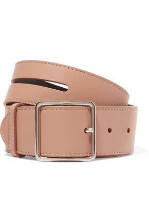 JIL SANDER Till cutout leather belt