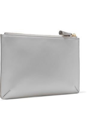 ANYA HINDMARCH Textured-leather pouch