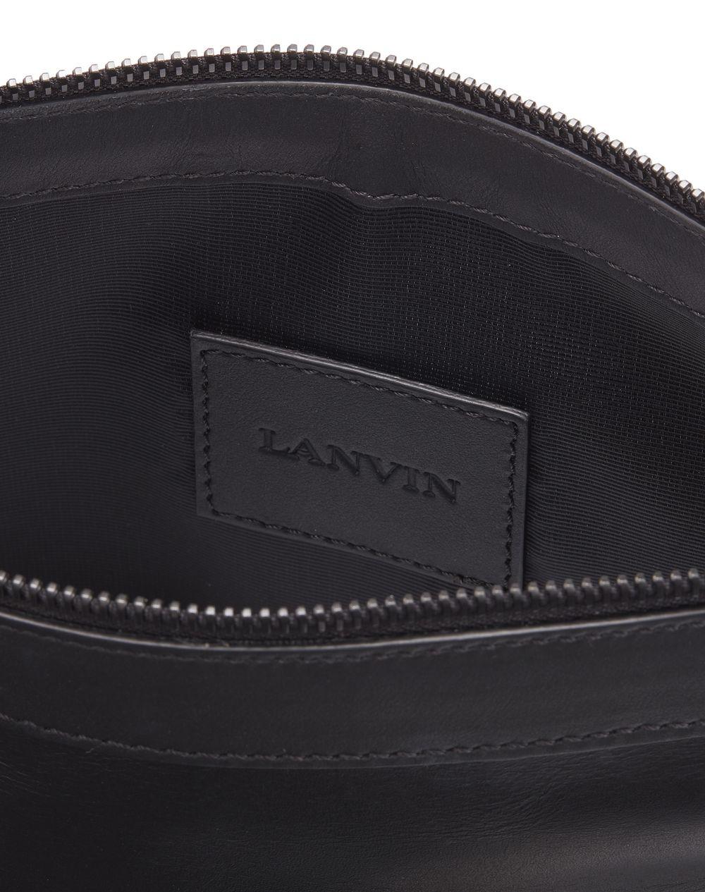LANVIN LOGO ZIPPED CLUTCH - Lanvin