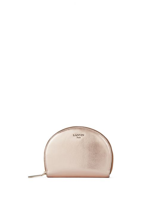 lanvin half-moon wallet women