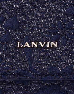 LANVIN FLAP CLUTCH Wallets & Card Holders D e